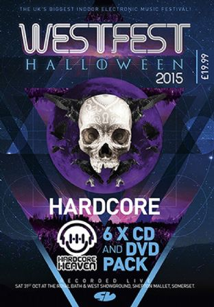 Westfest 2015 – Hardcore  CD Pack